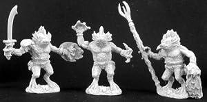 Desconocido Reaper Miniatures 2977 - Leyendas Oscuras: Glotzer (3) (sin Pintar) Importado de Alemania