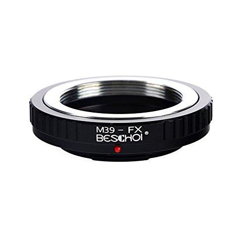 Adaptador de Lente de Leica M39 (Montaje en Tornillo Leica de Rosca 39MM x1) a Fujifilm FX cámara de la Serie X, para Fuji X-Pro1 X-E2 X-E1 X-E2 X-A1 X-A1 X-A2 X -A3 X-A10 X-M1 X-T1 X-T2 X-T20 X30
