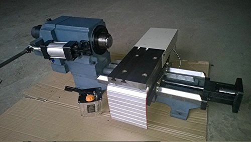 Gowe mini telaio CNC tornio per legno metallo CNC macchina, DIY D40MM Machine Tool