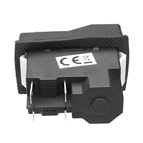 Negro R 2 x Micro Interruptor Pulsador Electrico 1NO 1NC Contactos TOOGOO
