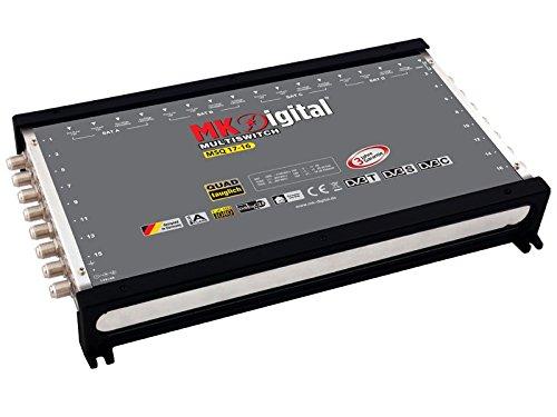 MK Digital MSQ 17-16 Multischalter mit LED-Anzeige Quad tauglich