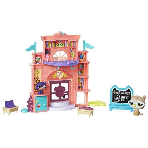 Littlest Pet Shop C0041vinyles école Jour Playset