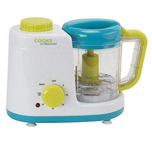 cooks-professional-electric-baby-food-blender-processor-combined-2-in-1-baby-steamer-with-500ml-blen