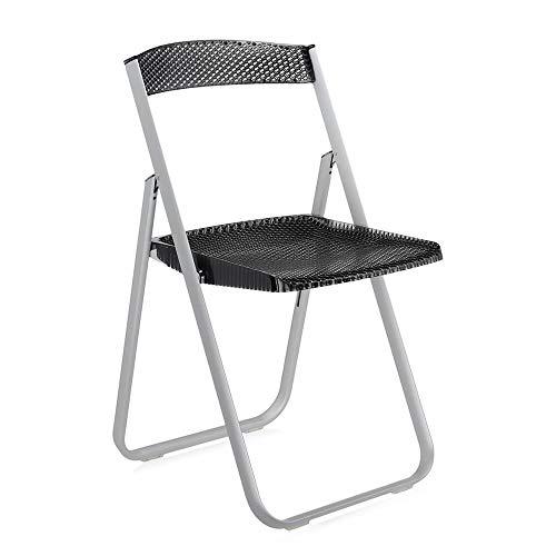 Kartell Honeycomb chaise pliante transoarente fumé