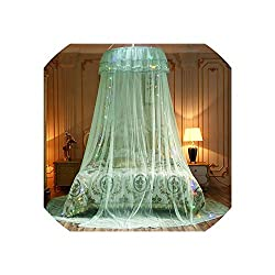 Tiamo Violet Mosquito Net Elegant Mosquito Net for Double Mosquito Repellent Tent Insect Reject Bed Curtain Bed Tent, 3
