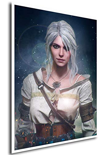 Instabuy Poster The Witcher III (L) - Ciri - A3 (42x30 cm)