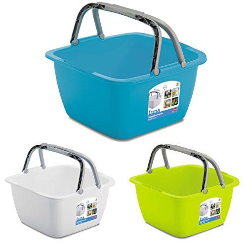 Waschschüssel 18,5-Liter Campingschüssel Spülschüssel Spüle Plastikschüssel Eimer