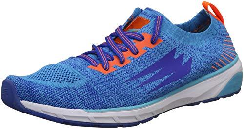 DFY Unisex Eclipse Blue/Orange Running Shoes-10 UK/India (43 EU)(DUF18S500505-43)