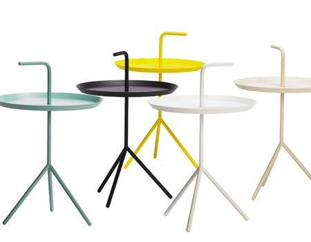 Beistelltisch Hay hay dlm side tables xl white hay denmark bentzen dlm