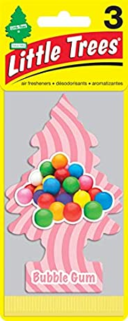 Little Trees Paper Bubble Gum, U3S-32048, 3Pieces
