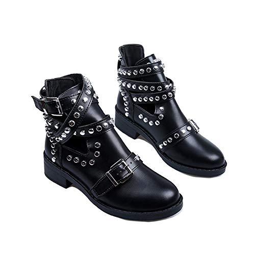 Xinantime Zapatos Tobillo Casual Calzado Bota de Tobillo con...