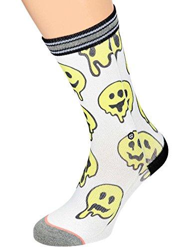 Stance Outbreak Womens Socks White 35-37 (Cuff Terry Socken)
