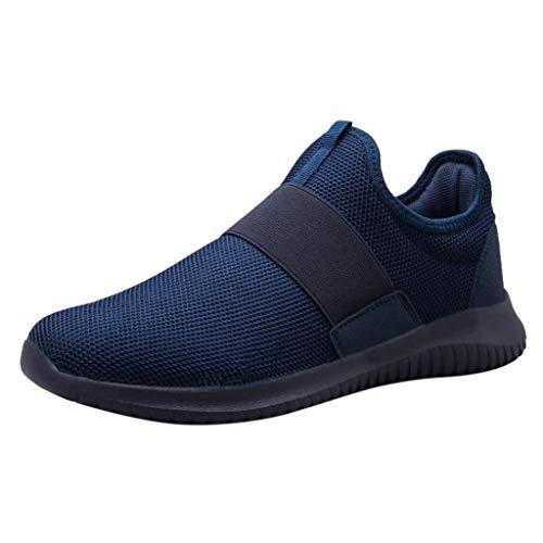 Herren Shoes Sommermode Atmungsaktives Mesh Outdoor Schuhe Turnschuhe Feste Laufschuhe Worker Boots Laufschuhe Combat Hallenschuhe Sportschuhe Wanderschuhe Sports ()