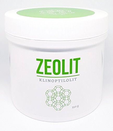 der Meister der Entgiftung - ultrafeines Zeolith Klinoptilolith (96%) Pulver 350g / Naturmineral sedimentären Ursprungs ohne Zusatzstoffe / mehrmals tribomechanisch aktiviert / vegan und laktosefrei
