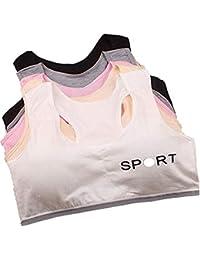 Amazon.fr   brassiere sport - Fille   Vêtements 58e1a935151