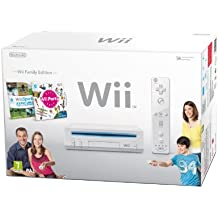 Nintendo Wii Console (White) with Wii Sports and Wii Party [Edizione: Regno Unito] - Baseball Angolo