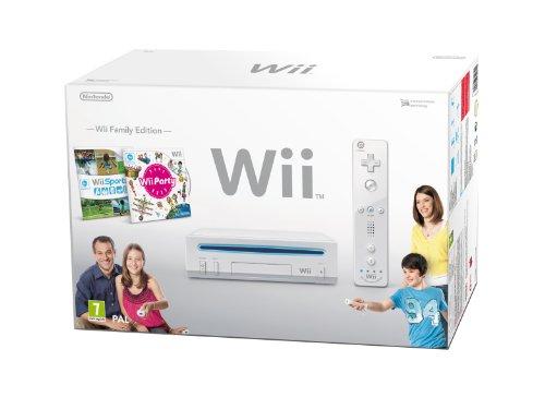 """Nintendo Wii """"Family Edition"""" - Konsole inkl. Wii Sports gebraucht kaufen  Wird an jeden Ort in Deutschland"""