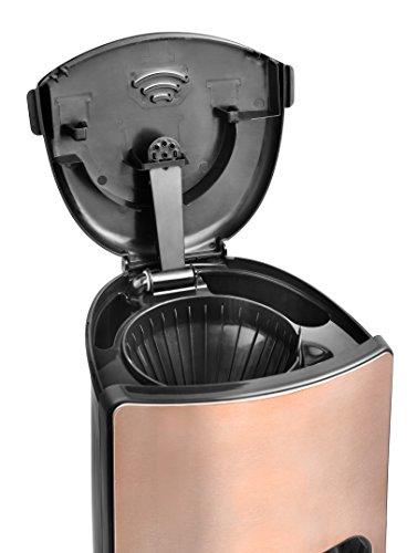 41YRk00gmNL - Team Kalorik TKG cm 1220 K KALORIK Design Filter Coffee Maker with 15 Cup Capacity, 1000 W, 1.5 liters, Bronze