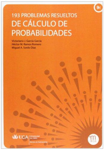 193 problemas resueltos de cálculo de probabilidades (Manuales a 6 euros)