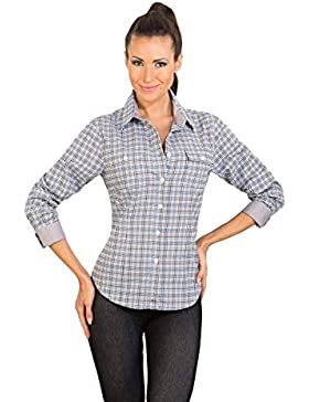 Camisa para mujer KENDRA - coffee by Gear