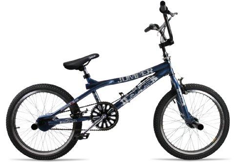 BMX Fahrrad 20Zoll Jumper Freestyle 360¡Rotor–System Chromoptik Farbe: blau