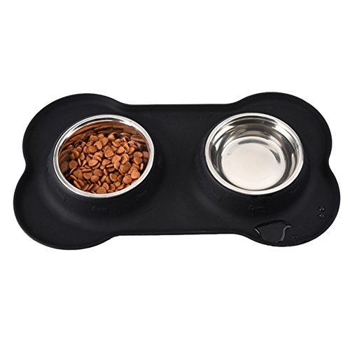 yaer-set-of-2-stainless-steel-pet-bowls-with-non-skid-no-spill-silicone-stand-for-small-dogs-cats-pu