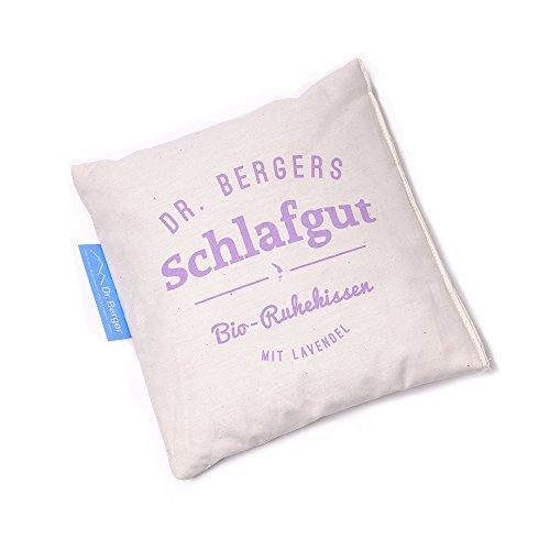 Bio-Lavendelblütenkissen Schlaf gut 19x19cm ()
