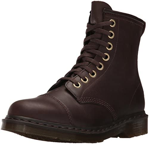 Dr.Martens Mens Mace 8 Eyelet Wyoming Polished Leather Boots
