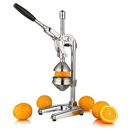 """ZELSIUS Saftpresse """"Valencia"""" Professionelle Hebel Zitruspresse, Entsafter, Premium Obstpresse für Orangen, Zitronen, Granatäpfel, und vieles mehr"""