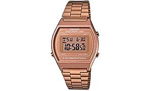 Casio Collection B640WC-5AEF, Reloj Digital Unisex, Acero Inoxidable, Marrón