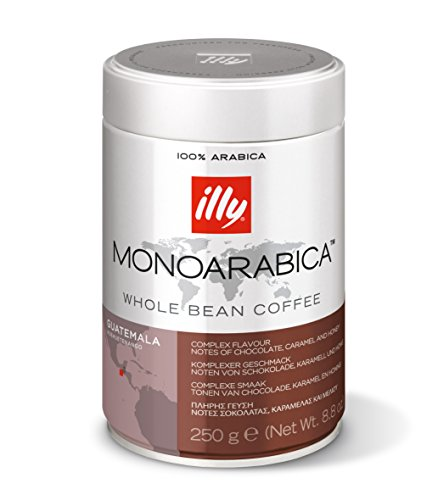 Illy Monoarabica Guatemala 250 g ganze Bohne, 2er Pack (2 x 250 g)