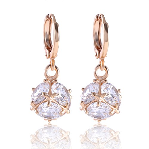 Leverback Earrings Gold Amazon Co Uk