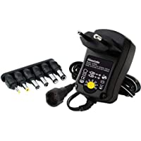 TM Electron TMUAD066 - Fuente de alimentación Regulable, Color Negro