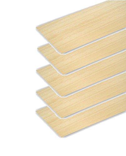 Pack 5 planchas de madera de balsa de 3mm de primera calidad. 31973x5