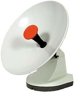 Roadpro Multimo Parabole satellite à tête universelle double Blanc