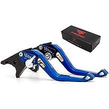 FXCNC Racing Palancas de freno hidráulicas dobles ajustables cortas para Yamaha X-MAX 250 400