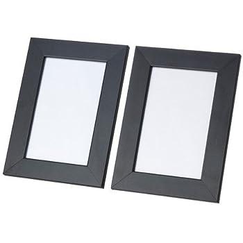 ikea bilderrahmen nyttja 10 st ck schwarz 10x15 cm bildgr e k che haushalt. Black Bedroom Furniture Sets. Home Design Ideas