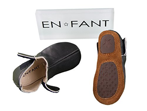 EN FANT Adventure Slipper, Chaussons fille gris anthracite