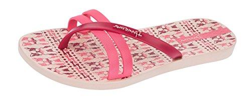 Ipanema Flip Print Frauen Flip-Flops / Sandalen Pink