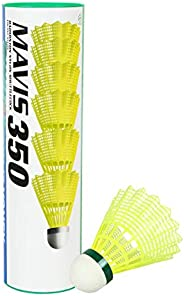 Yonex Mavis 350 Nylon Shuttlecock (Pack of 6) - Made in Japan