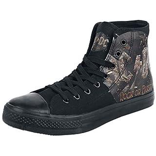 AC/DC Rock Or Bust Sneaker schwarz EU45