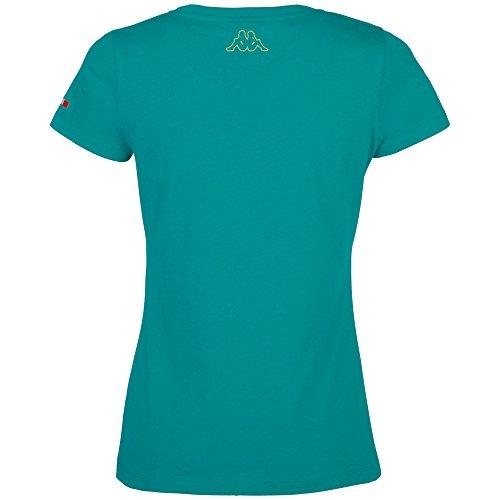 Kappa T-shirt Zofia Vert - Nautique