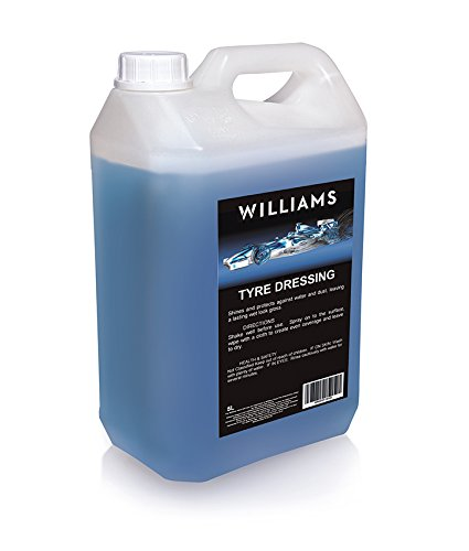 Williams Racing WIL0023 Reifenpflege, 5 Liter