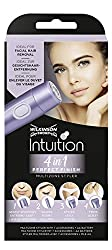 Wilkinson Intuition 4in1 Perfect Finish Electric Ladies Trimmer For body, bikini area, facial hair and eyebrows