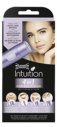 Wilkinson Sword Intuition Perfect Finish, 4 in 1 elektrischer Damentrimmer - Amazon Prime