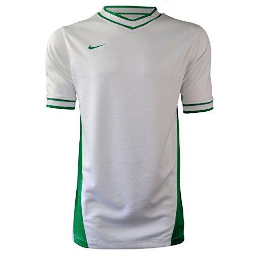 Basketball Shooting T-shirt Nike Blanc-Vert