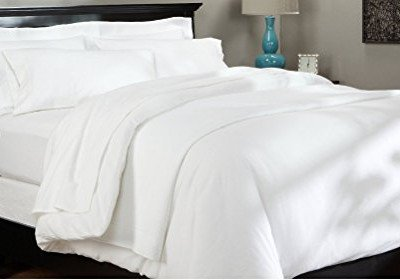 Duvet Cover King Flannelette Thermal White Duvet Cover Set,Flannel Duvet Cover Quilt Cover 100 % Brushed Cotton Bedding Quilt Cover With Pillow Cases Plain