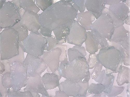 Seeglas, Glasscherben. Größe ca 20-50mm. 1 KG. Gefrostet NATUR Scherben
