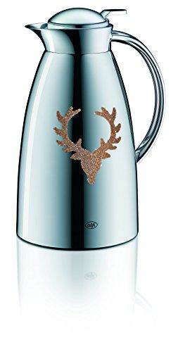 Alfi Gusto Metall 3522901100 Isolierkanne 1 Stück (1 Liter, 14 x 15 x 26 cm) deer copper
