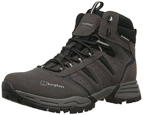 Berghaus EXPEDITOR AQ TREK TECH BOOT AM DKGRY/BLK, Bottines de randonnée homme Gris (Dark Grey/black D90)